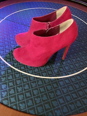 £7.50 • Buy Red Herring Hot Pink Platform Boots Size 8 Never Worn