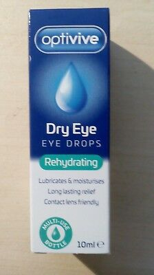 £3.25 • Buy Optivive Dry Eye Rehydrating Eye Drops Suitable For Contact Lenses.
