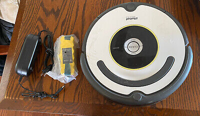 IROBOT ROOMBA 620 Robot VACUUM CLEANER - W/New Battery • 67.95£