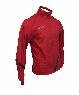 Mens Nike Tracksuit Top Track Jacket Red Size Small  • 19.99£