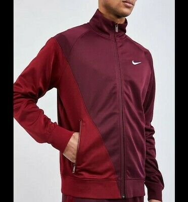 Nike Swoosh Poly - Mens Red Track Top / Jacket SIZE XL Extra Large • 19.99£