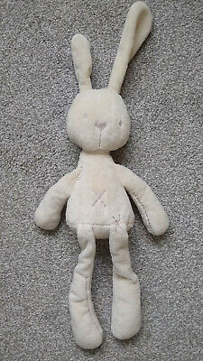 Mamas & Papas Millie & Boris Cream Bunny Rabbit Soft Toy • 12£