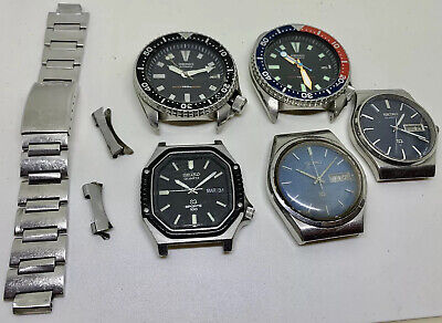 $ CDN1063.97 • Buy Vintage Seiko Diver Lot 5 Watches For Parts Repair