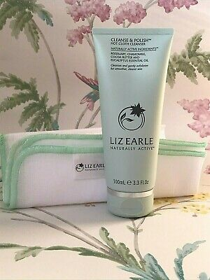 £17.50 • Buy GENUINE Liz Earle Cleanse And Polish Hot Cloth Cleanser With Muslin Cloth 100ml