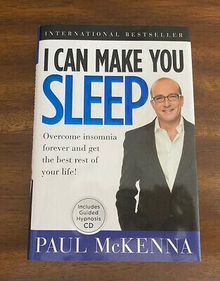 I Can Make You Sleep By Paul McKenna (Hardcover, CD) FREE SHIPPING • 5.46£