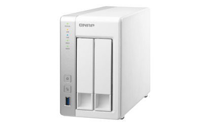 $ CDN196.03 • Buy QNAP TS-231 2 Bay SOHO NAS With 2 X 1TB Drives