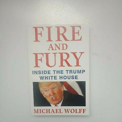 AU12.71 • Buy Fire And Fury Book By Michael Wolff (Paperback)