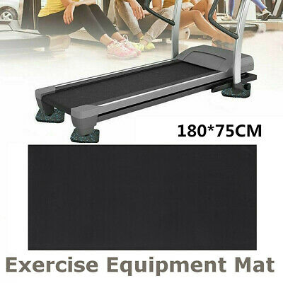 AU24.99 • Buy 1.8M Treadmill NBR Gym Floor Mat Equipment Fitness Exercise Bike Go Fit Protect