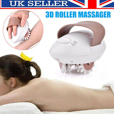 NEW 3D Electric Anti-Cellulite Body Massager Roller Shaping Slim Massaging Tool • 13.99£