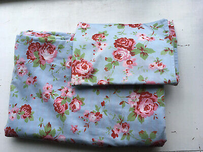 Cath Kidston Rosali Ikea Reversible Single Duvet Cover And One Pillow Case. • 9.90£