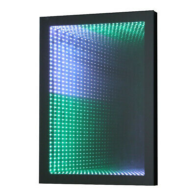 £145.95 • Buy Sensory Infinity LED Mirror 3D Tunnel Effect Light Bathroom Bedroom With Remote