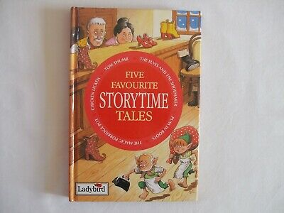 Five Favourite Storytime Tales Ladybird Book • 0.99£