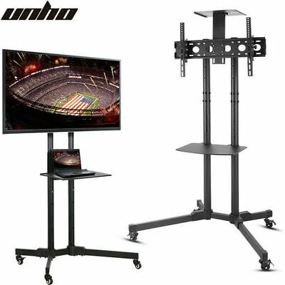 AU99.92 • Buy Steel Mobile TV Stand Cart Trolley Height-adjustable Up To 70  Screens Load 50kg