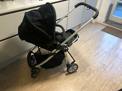 ICandy Cherry Pushchair & Carrycot (Black) Excellent Condition And Much Loved. • 200£