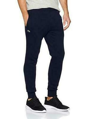 Lacoste MENS Jogging Bottoms Cuffed Navy Tracksuit Sports Gym Pant Size S • 44.99£