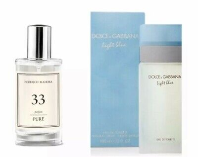 FM 33 Pure Collection Federico Mahora Perfume For Women 50ml UK • 9.40£