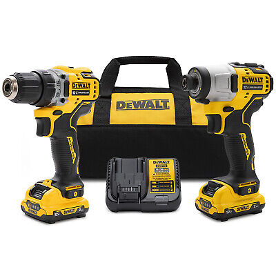 Dewalt Xtreme 12V MAX Brushless Cordless Compact Drill And Impact Driver Kit • 119.74£