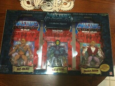 $171 • Buy Masters Of The Universe Commemorative Series 5 Collector Figures