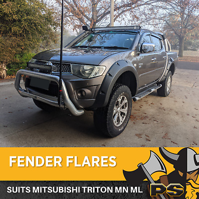 AU332.10 • Buy PS4X4 Jungle Off Road Wide Flares To Suit Triton MN ML 2006 – 2015