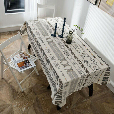 AU53.66 • Buy Arrowhead Tablecloth Cotton Linen Square Rectangle Home Dining Table Cloth Cover