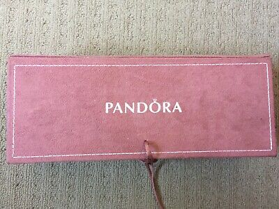 AU40 • Buy Authentic Pandora Limited Edition Pink Suede Jewellery Box 3Tierin Box Retired