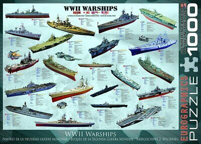 £13.49 • Buy Eurographics Puzzles WWII War Ships Jigsaw Puzzle