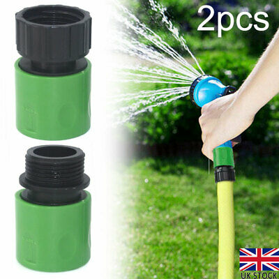 3/4  Garden Hose Connectors Watering Pipe Tap Plastic Connector Adaptor Fitting • 4.36£