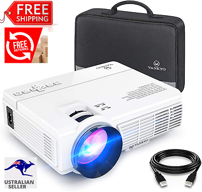 AU245 • Buy VANKYO LEISURE 3 Mini Projector, 1080P And 170'' Display Supported, 2400 Lux Por