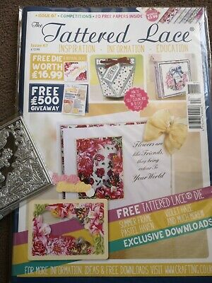 Tattered Lace Magazine With Die. Issue 67.  • 6.99£
