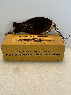 $ CDN23.85 • Buy Vintage National Expert Bayfield Spoon 410 N-C With Box Casting Trolling