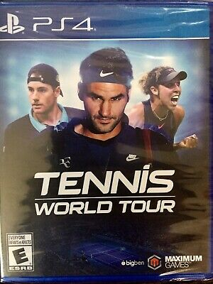 AU21.46 • Buy Tennis World Tour - PS4 (Sony PlayStation 4) Brand New Sealed