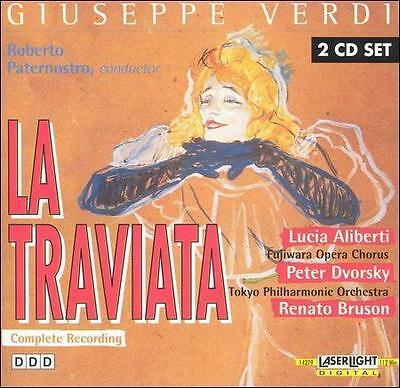 Verdi: La Traviata (CD, Oct-1995, 2 Discs, Laserlight) • 1.70£