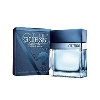 Guess Seductive Homme Blue For Men 1.7 Oz Original New Sealed + Free Shipping  • 12.87£