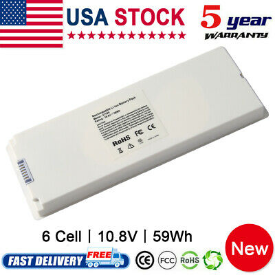 $20.95 • Buy Rechargeable Battery For Apple MacBook 13 Inch A1181 A1185 MA561 MA566 White