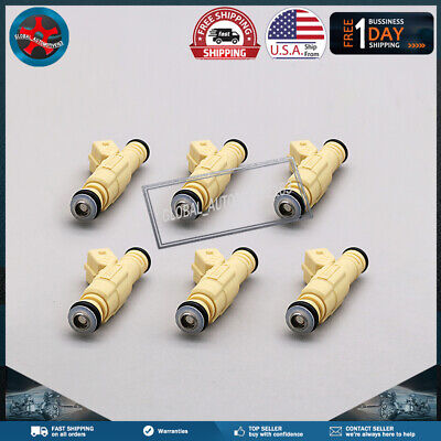 $38.93 • Buy 6Pcs Fuel Injectors 0280155811 For Buick Park Avenue Regal 3.8L 0280155737