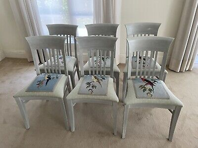 AU100 • Buy Dining Chairs, Tapestry Seat Covers