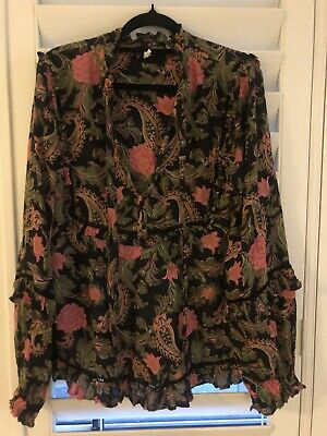 AU99 • Buy Spell And The Gypsy Etienne Blouse Noir - XL EUC