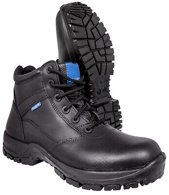 $89.25 • Buy Blueline 6  All Leather Patrol Boots - Police/Military/Security/Paramedic