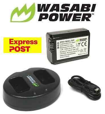 AU45.50 • Buy NP-FW50 Wasabi Battery X 1 And Charger For SONY Alpha A7 A7II NEX-3 NEX-3N NEX-5