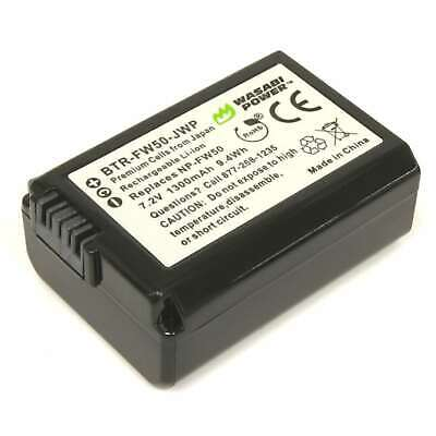 AU24.90 • Buy Wasabi Power 1300mAh Battery For Sony NP-FW50 & Alpha A5000,a5100,a6000,ILCE-QX1