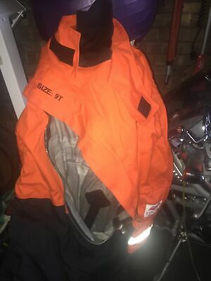 Mullion Smart Solas Immersion Survival Suit XXXL And XT With Gloves And Hood New • 250£
