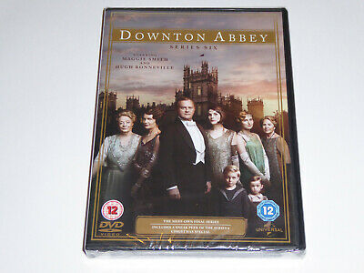 Downton Abbey: The Complete Series 6 NEW SEALED DVD SET Downtown 6th Season Six • 11.99£