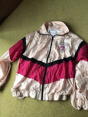 Ladies Vintage 80's Shell Suit Jacket. Small 10/12. • 15£