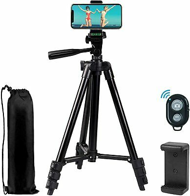 £8.99 • Buy 42'' Compact Travel Tripod With Bluetooth -Camera/Smartphone/Video *NEW*