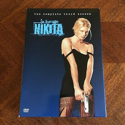 La Femme Nikita - The Complete Third Season (DVD, 2005, 6-Disc Set) Rare W/ Slip • 21.70£