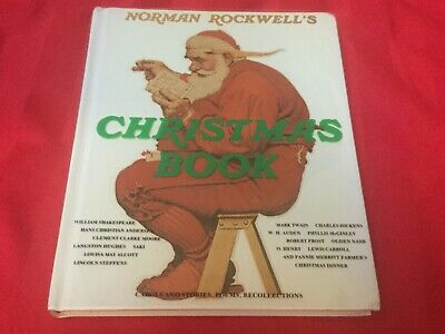 $ CDN10.91 • Buy Norman Rockwell's Christmas Book Carols Stories Poem Hardcover Dust Jacket 1977