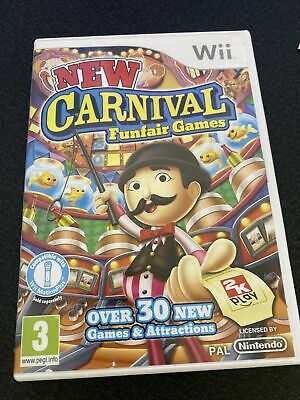 New Carnival Games Wii • 7.95£