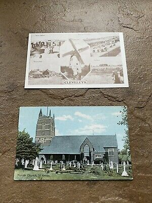 £2.25 • Buy Old  Postcards   Of  Cleveleys And St Anne's In Fantastic Condition