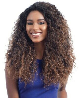 £30.99 • Buy Freetress Equal Lace Front Deep Invisible L Part Wig SHALOME