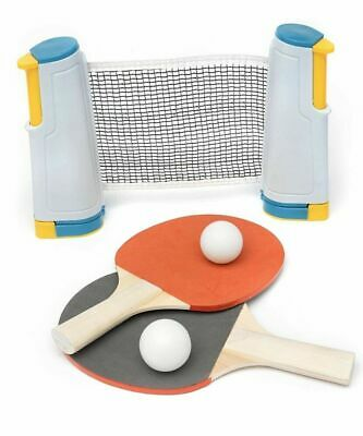 Table Tennis Game Instant Indoor Portable Travel Ping Pong Ball Set Extendable  • 11.99£